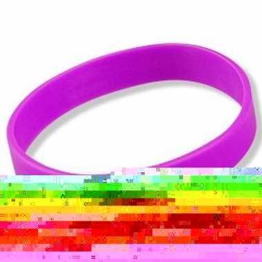 Neon paars armbandje