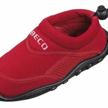 Neopreen rode waterschoenen voor kinderen