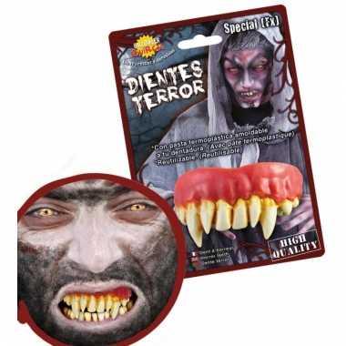 Nep gebit met monster tanden