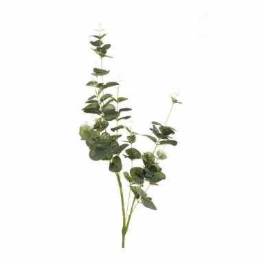 Nep planten eucalyptus kunstbloemen takken 75 cm decoratie