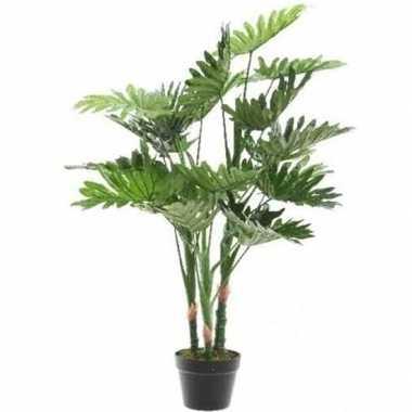 Nep planten groene philodendron monstera gatenplant kunstplanten 100