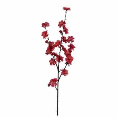 Nep planten malus domestica appelbloesem kunstbloemen takken 80 cm de