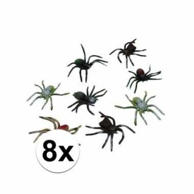 Nep spinnetjes 10 cm 8 stuks