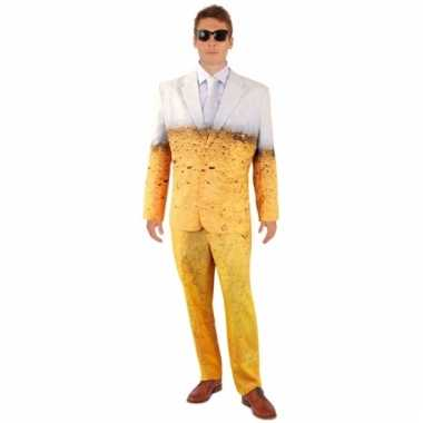 Net bier pak/kostuum voor heren