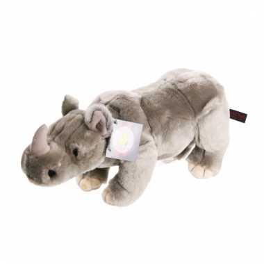 Neushoorn knuffels 36 cm