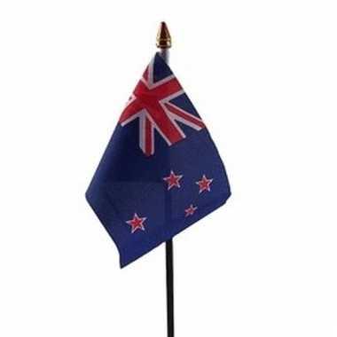 Nieuw zeeland vlaggetje polyester