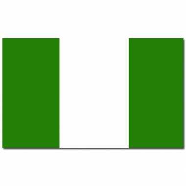 Nigeriaanse vlag 90x150 cm