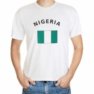 Nigeriaanse vlag t-shirt