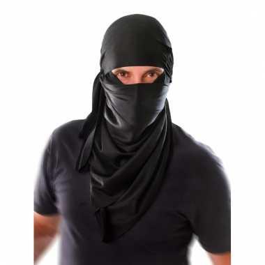 Ninja hoofdsjaal voor volwassenen