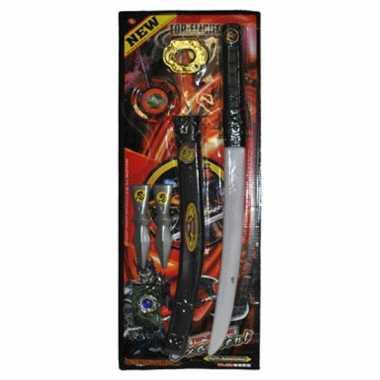 Ninja set met zwaard