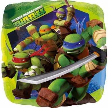 Ninja turtles folie ballon 43 cm