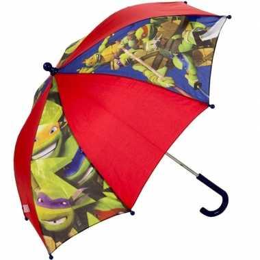 Ninja turtles kinderparaplu rood 45 cm