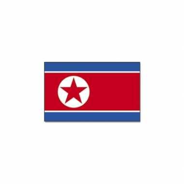 Noord koreaanse vlag 90x150 cm