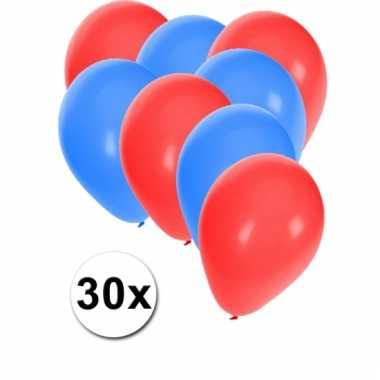 Noorse ballonnen pakket 30x