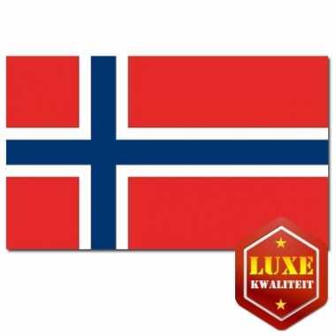 Noorse vlag luxe kwaliteit