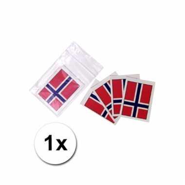 Noorse vlag tattoeage