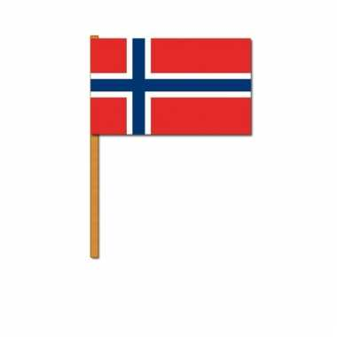 Noorwegen zwaaivlaggetjes