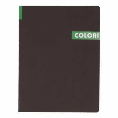Notitieboek b5 groen 96 vel