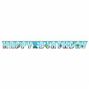Oceaan wenslijnen happy birthday