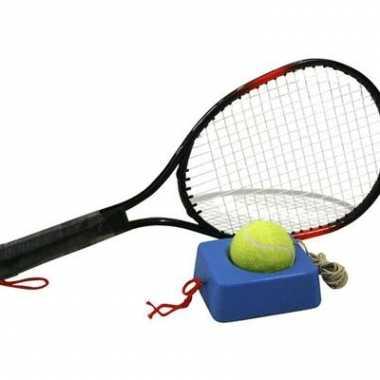 Oefen tennisracket met 4 meter lang touw