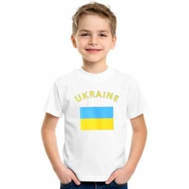 Oekraiense vlag t-shirts voor kinderen
