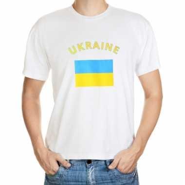Oekraiense vlag t-shirts