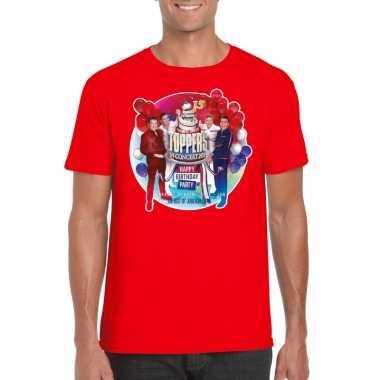 Officieel toppers in concert 2019 t-shirt rood heren