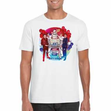 Officieel toppers in concert 2019 t-shirt wit heren