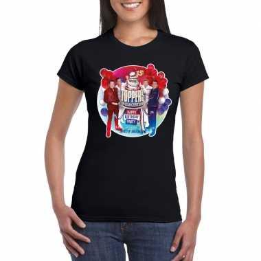 Officieel toppers in concert 2019 t-shirt zwart dames