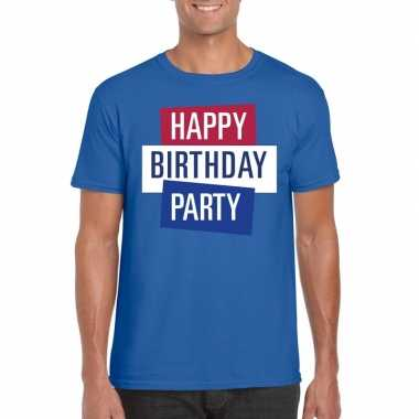 Officieel toppers in concert happy birthday party 2019 t-shirt blauw