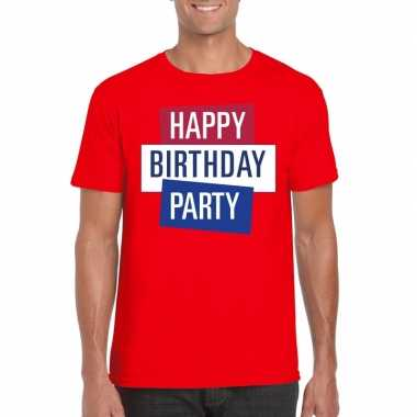 Officieel toppers in concert happy birthday party 2019 t-shirt rood h