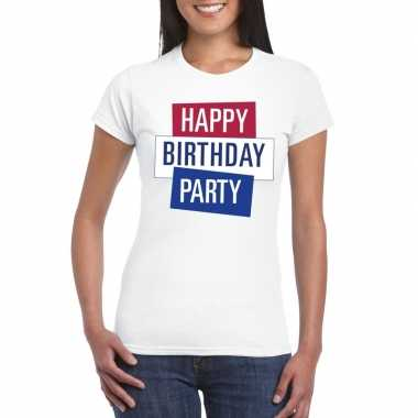 Officieel toppers in concert happy birthday party 2019 t-shirt wit da