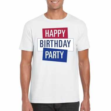 Officieel toppers in concert happy birthday party 2019 t-shirt wit he