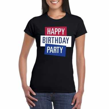 Officieel toppers in concert happy birthday party 2019 t-shirt zwart