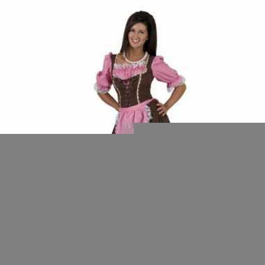 Oktoberfest kleding bruine jurk
