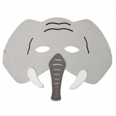 Olifanten foam masker voor kinderen