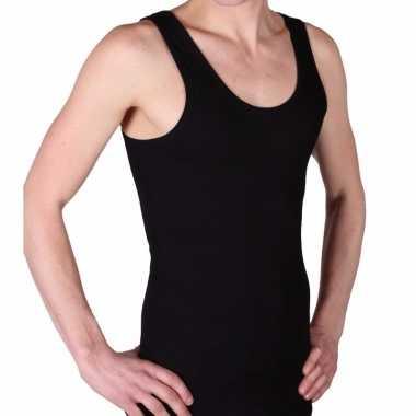 Ondergoed beeren heren hemd zwart