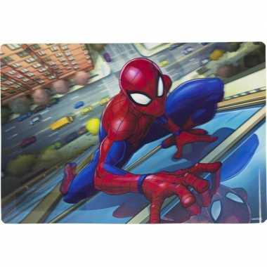 Onderlegger spiderman 42 x 28 cm