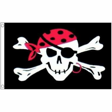 One eyed jack vlag piraat