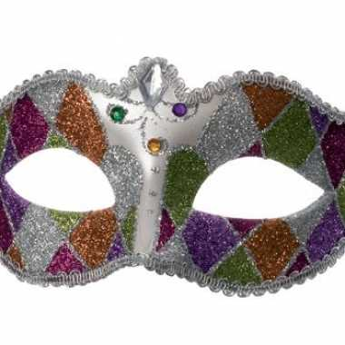 Oogmasker met glitters