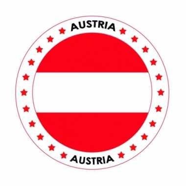 Oostenrijk thema bierviltjes
