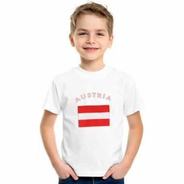 Oostenrijkse vlag t-shirts voor kinderen