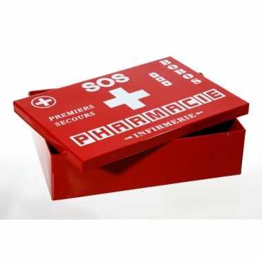 Opbergbox pharmacie 26 cm