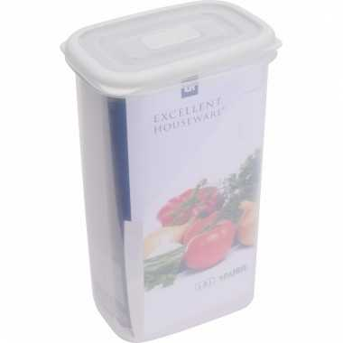 Opbergbox transparant 1800 ml