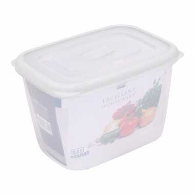 Opbergbox transparant 2200 ml