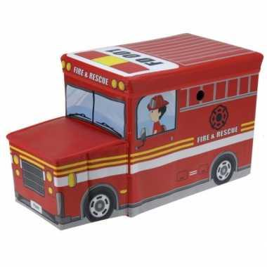 Opbergdoos brandweerwagen 55 cm
