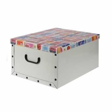 Opbergers box zachtgoen 50 x 38 cm