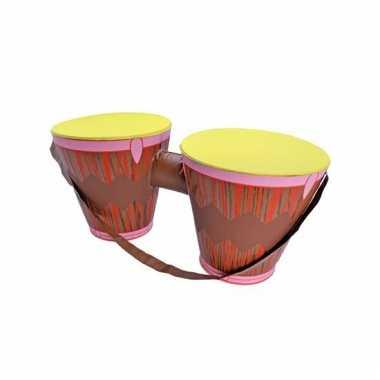 Opblaas bongos met schouderband