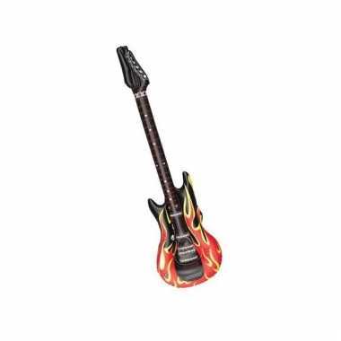 Opblaas elektrische gitaar