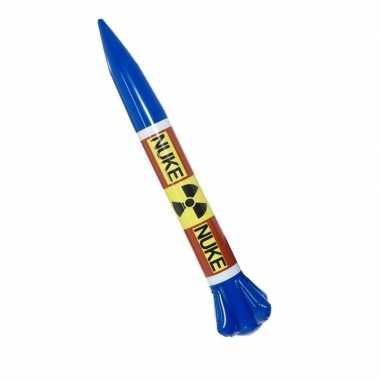 Opblaas raket van kim jung-un 87 cm